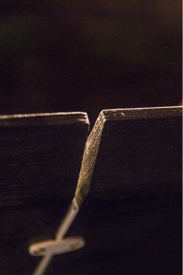 Detalhe em madeira